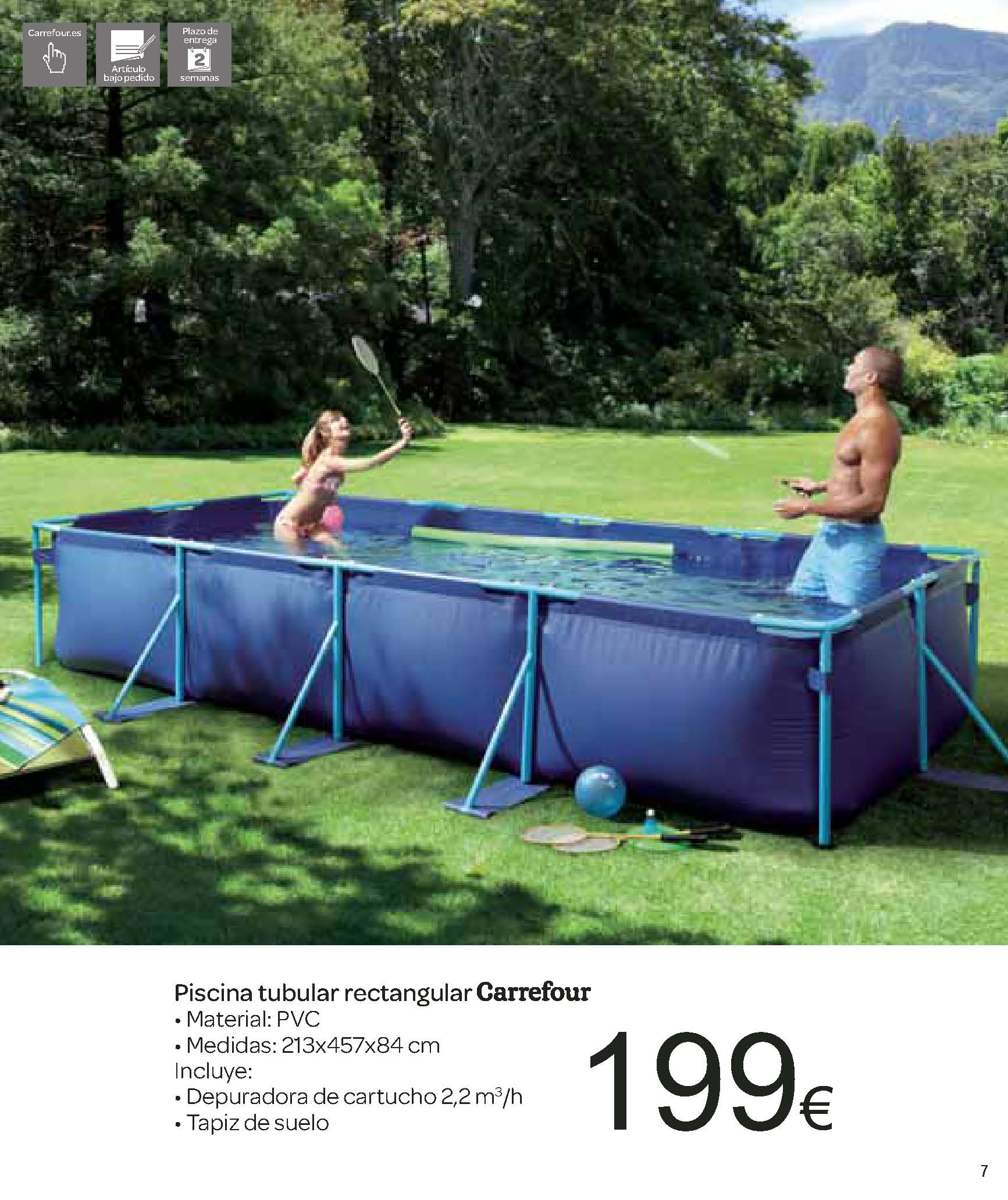 Ofertas carrefour for Suelo piscina carrefour