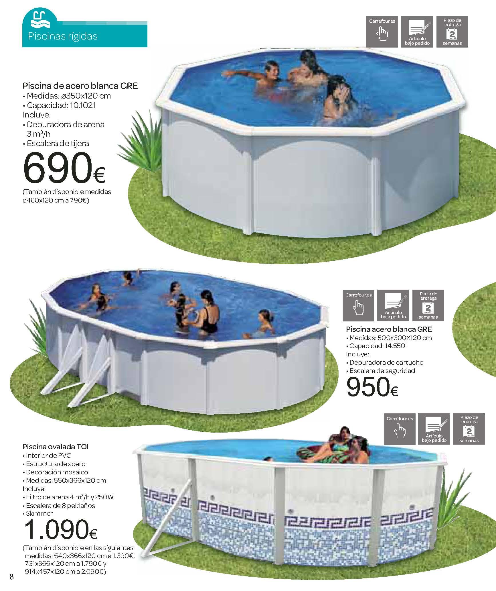 catalogo carrefour junio 2012 especial piscinas y jardin On catalogo carrefour piscinas