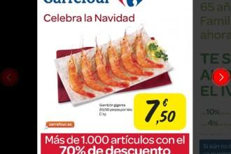 catálogo de ofertas Carrefour Fiestas 2012
