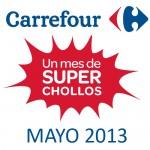 Mitad de precio Carrefour online mayo 2013