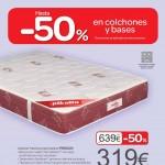 Catálogo Carrefour España colchones y bases 2013