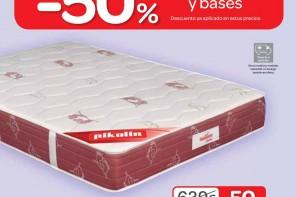 Carrefour Espana colchones y bases 2013 01