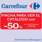 Carrefour agosto 2013 especial colchones