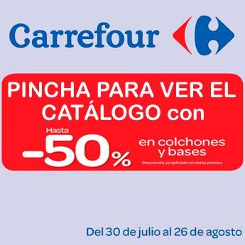 Carrefour agosto 2013 especial colchones - Colchones hinchables carrefour precios ...