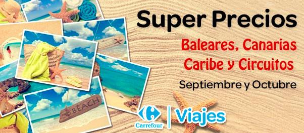 Viajes Carrefour ofertas ocutbre 2013
