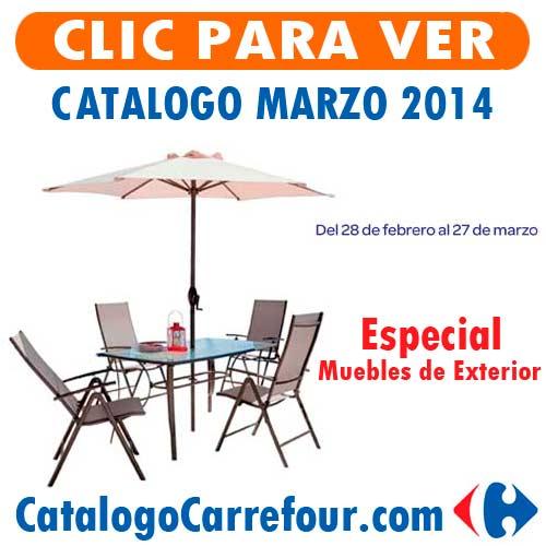 Ofertas carrefour marzo 2014 online para espa a - Muebles de jardin carrefour 2014 ...