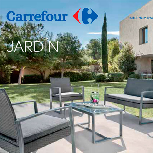 Muebles exterior carrefour cheap catlogo carrefour for Muebles de jardin carrefour