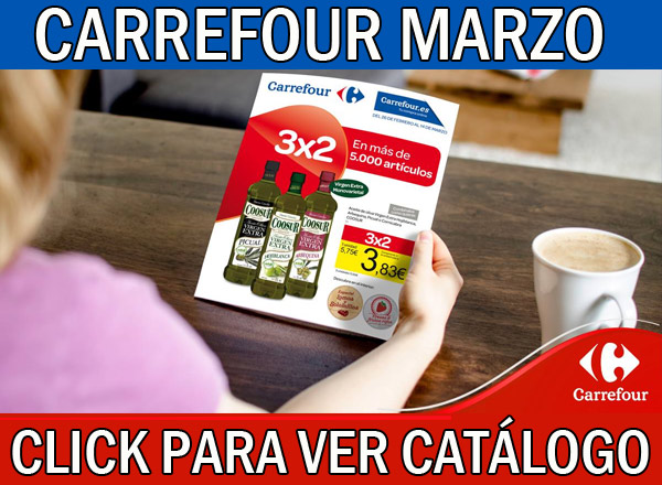 Ofertas del catalogo Carrefour marzo
