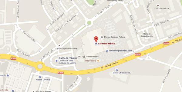 Mérida Carrefour