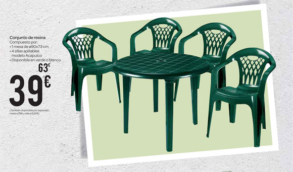 Cat logo carrefour marzo ofertas - Sillas carrefour jardin ...
