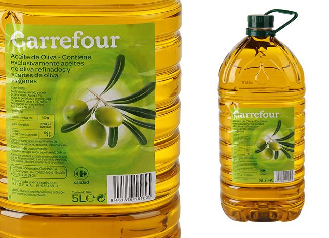 aceite de oliva extra virgen-carrefour España-