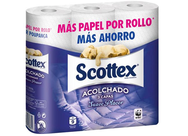 PAPEL HIGIÉNICO SCOTTEX-CARREFOUR ESPAÑA-