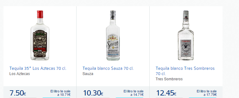 tequila-Carrefour España