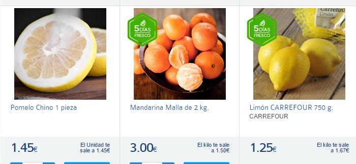 cítricos-Carrefour España