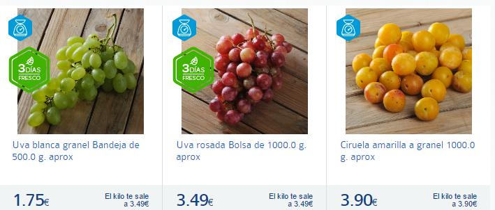 ciruelas y uvas-Carrefour España-
