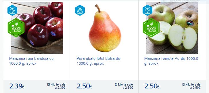 manzanas y peras-Carrefour España-