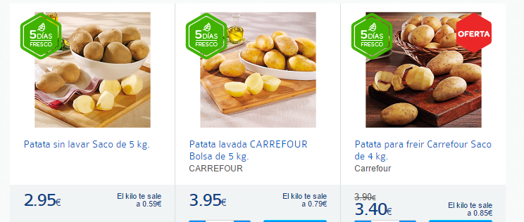 patatas-Carrefour España