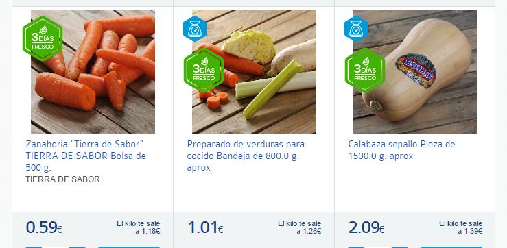 verdura para caldo-Carrefour España