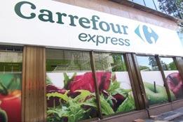Logo de Carrefour Express