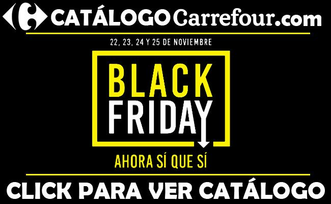 Carrefour Black Friday 2018
