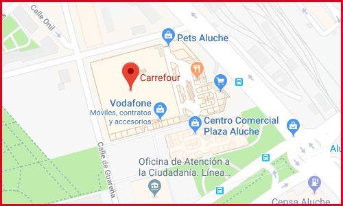 Carrefour Aluche en Madrid