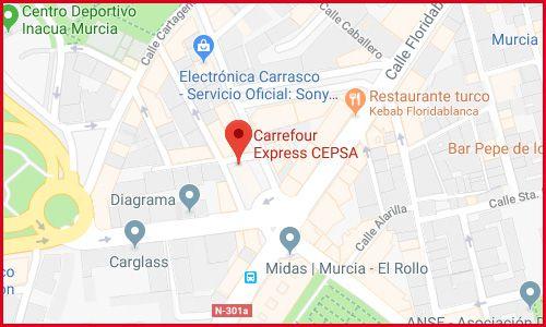 Carrefour Cepsa Murcia