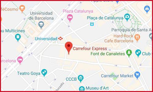 Hipermercado en Barcelona