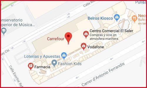 Carrefour El Saler Valencia