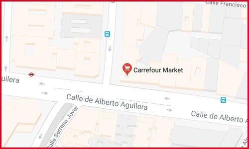 Carrefour 24 horas abierto en Madrid