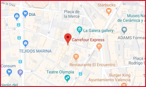 Valencia Musico Peydro Carrefour