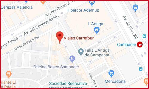 Valencia viajes en Carrefour