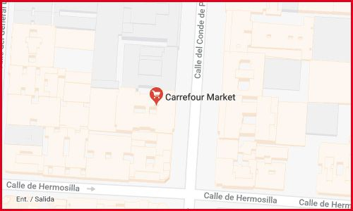 Market Carrefour Conde Peñalver Madrid