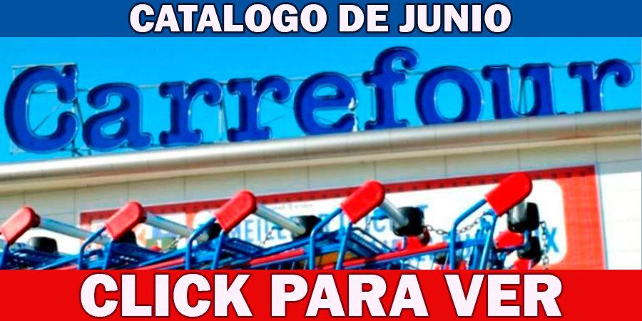Catálogo de Carrefour junio
